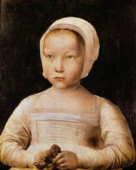 Young Girl with a Dead Bird