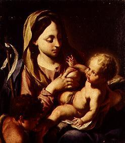Madonna with the Christuskind and the Johannesknaben