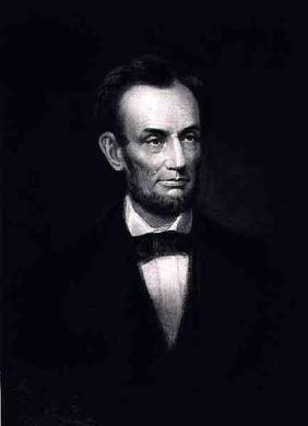 Abraham Lincoln, 16th President of the United States of America, 1864, pub. 1901 (photogravure)