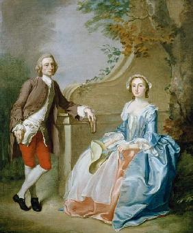 Portrait of a Gentleman and his Wife