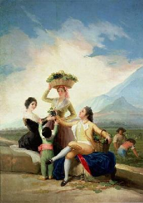Autumn, or The Grape Harvest 1786-87