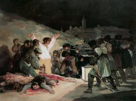 The shooting of the insurgents