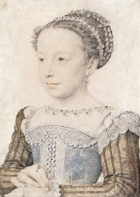 Portrait of Margaret of Valois (1553-1615)