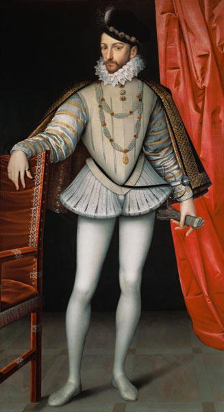 Portrait of Charles IX (1550-74)