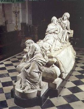 Funeral monument to Armand-Jean du Plessis, Cardinal Richelieu (1585-1642) depicting the cardinal ex