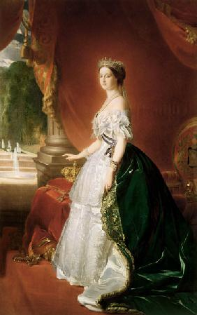 Empress Eugenie of France (1826-1920) wife of Napoleon Bonaparte III (1808-73)