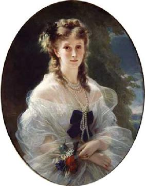 Portrait of Sophie Troubetskoy (1838-96) Countess of Morny