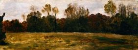Sketch for a Landscape, c.1890 (oil on canvas)