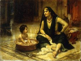 Fellahin and Child