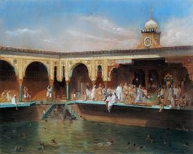 The Deligny Baths, Paris