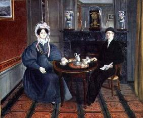 Couple Having Tea