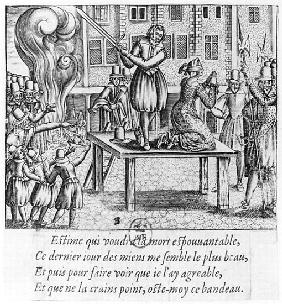 Execution of Leonora Galigai (1571-1617) on 8th July 1617
