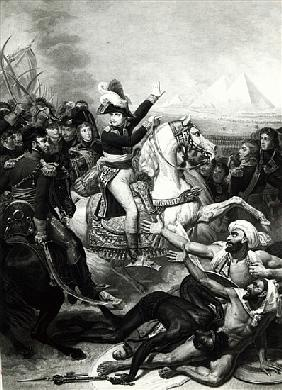 Portrayal of Napoleon as the Conquering Hero in Egypt