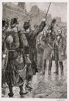 The Arrest of Victor Schoelcher (1804-93) at the Saint-Antoine Barricade, 4th December 1851