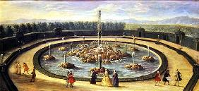 The Bassin de l''Encelade at Versailles, early eighteenth century