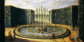 The Bassin de Saturne at Versailles (early eighteenth century)