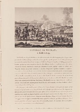 The Battle of Wagram on 6th July 1809