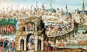 The Royal Entry Festival of Henri II (1519-59) into Rouen, 1st October 1550