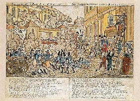 The Terrible Night in Paris, 10th August 1792