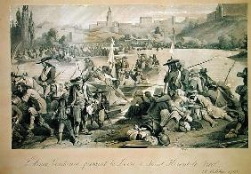 The Vendean Army Crossing the Loire at St. Florent le Vieil, 18th October 1793
