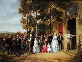 A Wedding at the Coeur Volant, Louveciennes