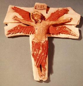 Winged Christ on the Cross