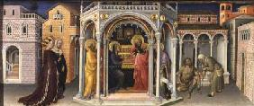 The Presentation in the Temple, from the Altarpiece of the Adoration of the Magi