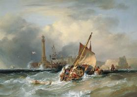 Lugger Entering Margate