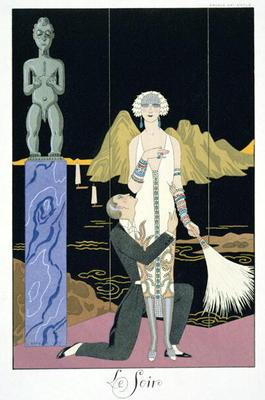 Night, 1925 (pochoir print)