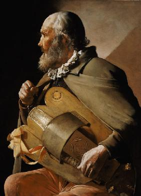 The Blind Hurdy Gurdy Player