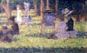 Study for 'A Sunday Afternoon on the Island of La Grande Jatte'