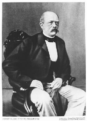 Bismarck in 1870 before the Declaration of War