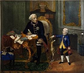 Frederick the Great and his Grandnephew