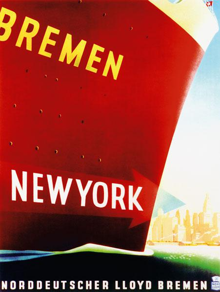 'New York', poster adverti...