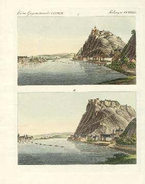Picturesque views of the Rhine