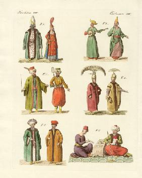 Turkish national costumes