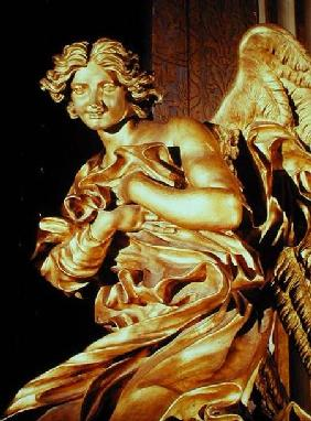 Angel from the tabernacle in the Blessed Sacrament Chapel