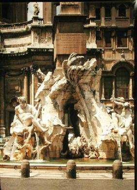 The Four Rivers Fountain, 1648-51