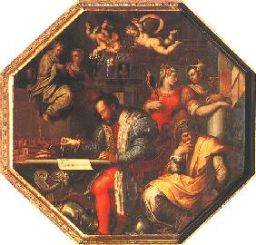 Cosimo I. plans the war against sienna