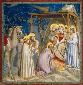 Adoration of the Kings / Giotto / Padua