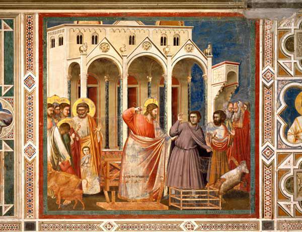 Expuslion of Money Changers / Giotto