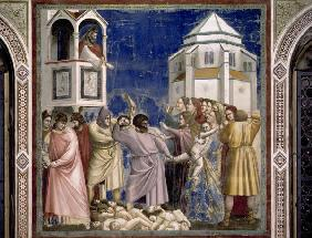 Massacre of the Innocents / Giotto