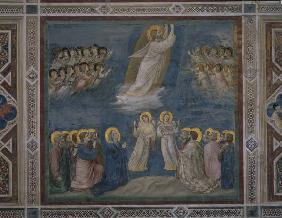 Ascension of Christ / Giotto / c.1303/05