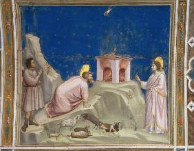 Joachim''s Offering / Giotto / c.1303/10