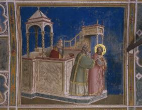 Rejection of Joachim''s Offering / Giotto
