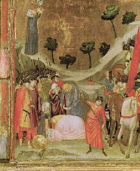 The Martyrdom of St. Paul, right hand panel from the Stefaneschi Triptych, c.1320 (detail of 214100)