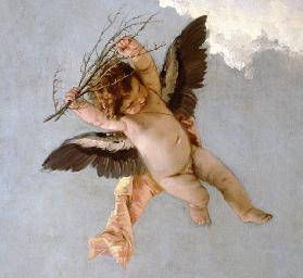 G.B.Tiepolo / Putto w.Thorns / Paint.