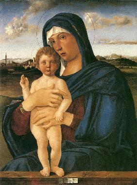 Virgin with Standing Blessing Child (Contarini Madonna)
