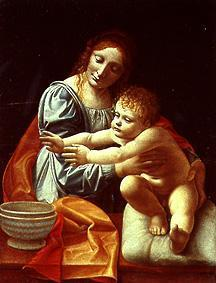Maria with the child