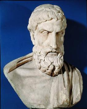 Bust of Epicurus (341-270 BC)